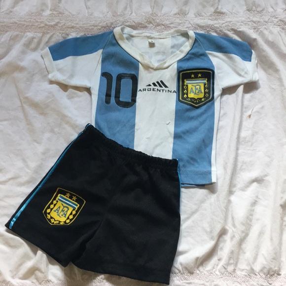 buy online b916f 795da Messi Jersey Baby 12m